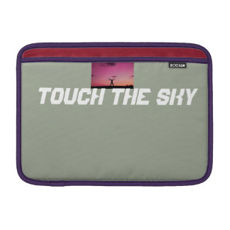 touch the sky MacBook sleeve