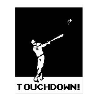 Touchdown Post Card