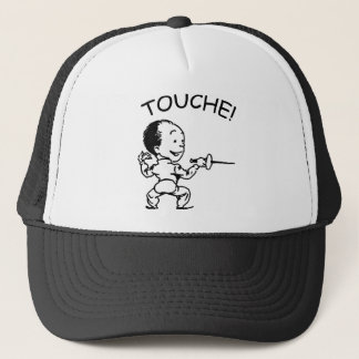 Touche Fencing Trucker Hat