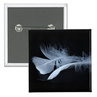 Touching feathers pin