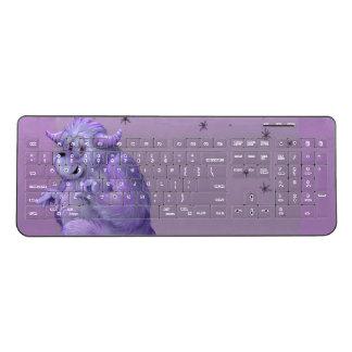 TOUFFIN ALIEN CARTOON Custom Wireless Keyboard