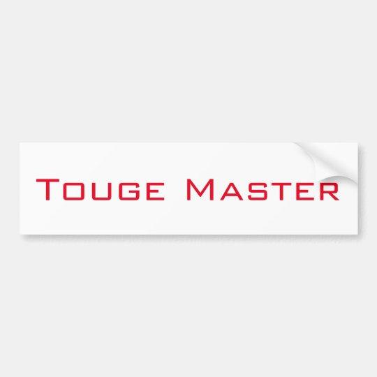 Touge Master Bumper Sticker