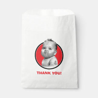 Tough Beared Baby Boy Favour Bags