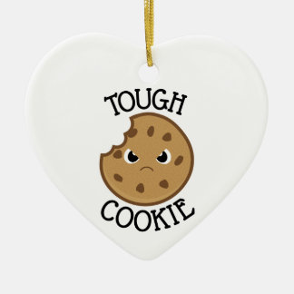 Tough Cookie Christmas Ornament