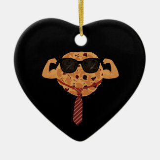 Tough Cookie - Cool Christmas Ornament