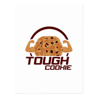 Tough Cookie Postcard
