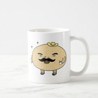 Tough Guy Macho Potato Coffee Mug