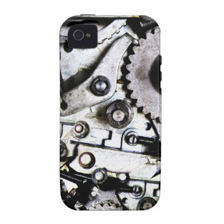 Tough Industrial Steampunk Machine Vibe iPhone 4 Cover