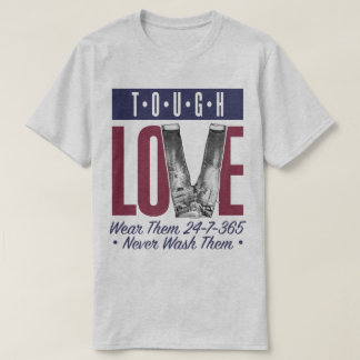 Tough Love Denim Enthusiast Selvedge Raw T-Shirt