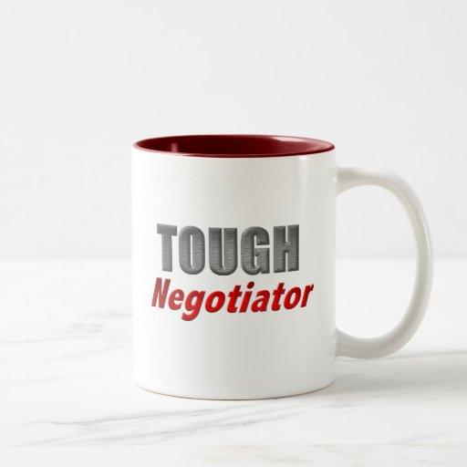 Tough Negotiator Mugs