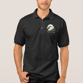 Tough Old Bird Fun  Bald Eagle, Bird, Business Polo Shirt