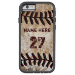Tough Personalised Vintage Baseball iPhone Cases