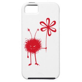 Tough Red Evil Flower Bug iPhone 5 Cases