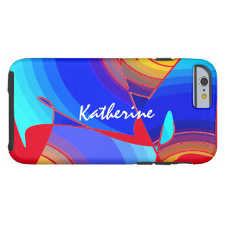 Tough Style iPhone 6 case Fullcolor for Katherine Tough iPhone 6 Case