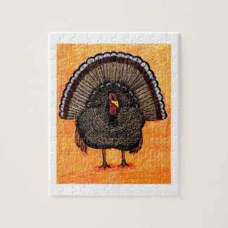 Tough Turkey Jigsaw Puzzle
