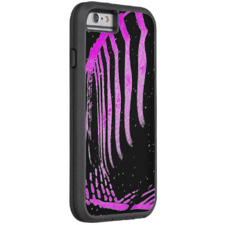 Tough Xtreme iPhone 6 cover with Purple Shapes iPhone 6 Case