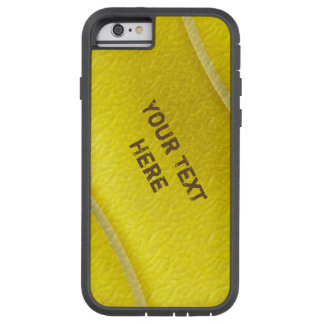 Tough Xtreme Tennis iPhone 6 Cases with YOUR TEXT Tough Xtreme iPhone 6 Case