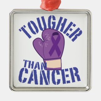 Tougher Than Cancer Christmas Ornament
