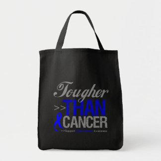 Tougher Than Cancer - Colon Cancer Tote Bag