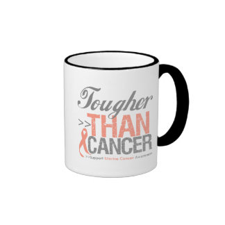 Tougher Than Cancer - Uterine Cancer Mug