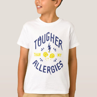 """Tougher Than My Allergies"" Kids T-Shirt"