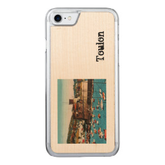 Toulon Mourillon Baie du Fort France Carved iPhone 8/7 Case