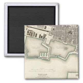 Toulon Square Magnet