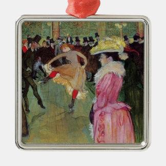 Toulouse-Lautrec, At the Rouge, Ornament
