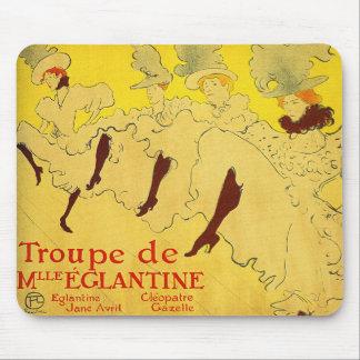 Toulouse-Lautrec - Dance Troupe Mouse Pad
