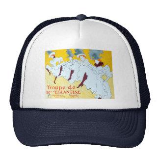 Toulouse-Lautrec Dancing Girls Poster Cap