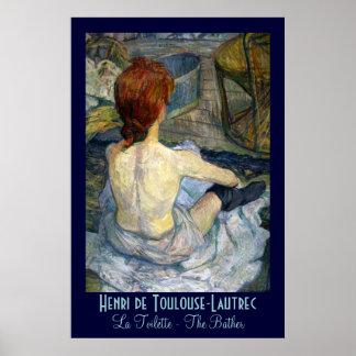 Toulouse-Lautrec: La Toilette Poster