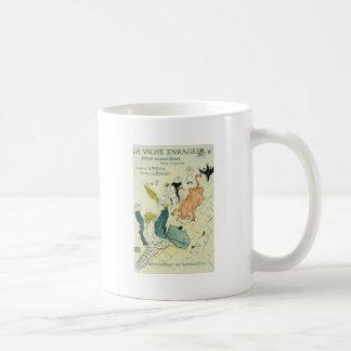 Toulouse-Lautrec La Vache Enragee Mug