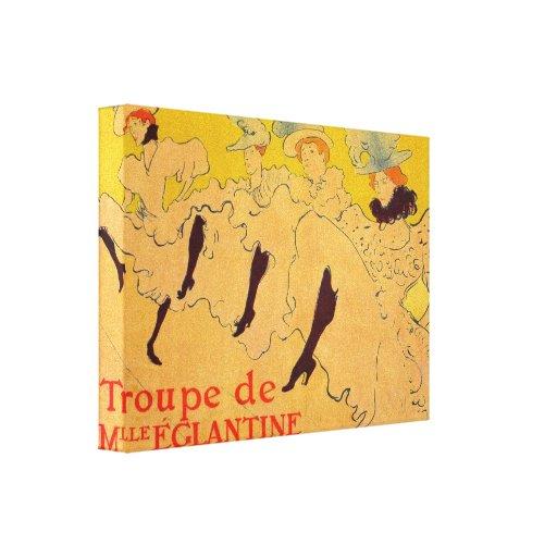 Toulouse-Lautrec - Mlles Eglantines 2 Canvas Prints