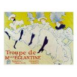 Toulouse Lautrec poster Postcards