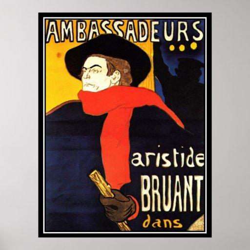 Toulouse-Lautrec Vintage Poster