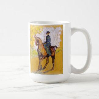 Toulouse-Lautrec Woman on Horse Mug