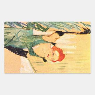 Toulouse-Lautrec - Yvette Guilbert greets the Audi Sticker