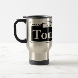 Toulouse St., New Orleans Street Sign Travel Mug