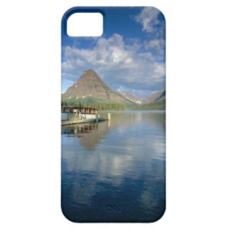 Tour Boat Docked at Two Medicine Lake in Glacier Case For The iPhone 5