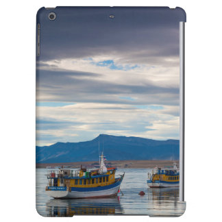 Tour boats on Seno Ultima Esperanza bay iPad Air Cover