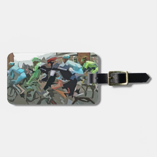 Tour De France 2014 Luggage Tag
