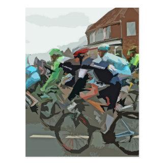 Tour De France 2014 Postcard