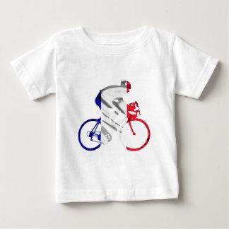 Tour de france cyclist baby T-Shirt