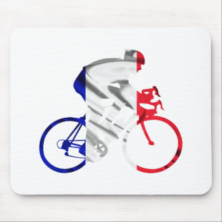 Tour de france cyclist mouse mat