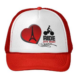 Tour De France Paris Heart Cap