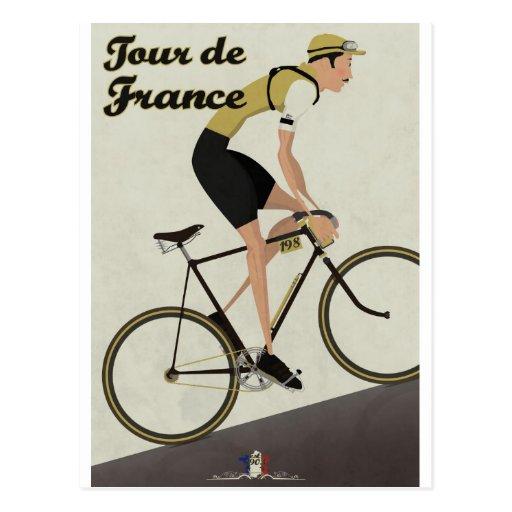 Tour De France Post Card