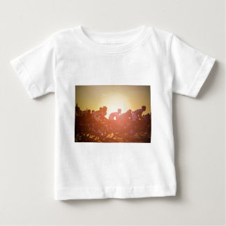 Tour De France Sunset Baby T-Shirt