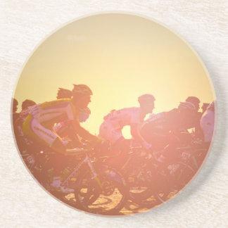 Tour De France Sunset Beverage Coaster