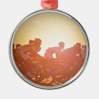 Tour De France Sunset Christmas Ornament