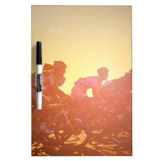 Tour De France Sunset Dry Erase Board